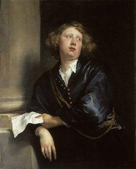 Anthonis van Dyck: Bildnis des Organisten Hendrik Liberti (1600-1669)