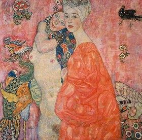 Gustav Klimt: Die Freundinnen