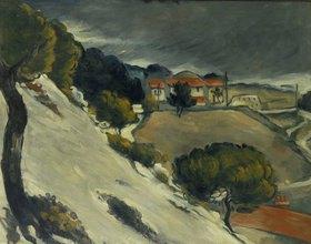 Paul Cézanne: Erster Schnee bei l'Estaque