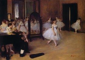 Edgar Degas: Tanzklasse (Classe de danse)