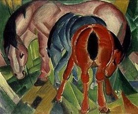 Franz Marc: Stute mit Fohlen