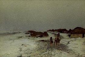 Iwan Pawlowitsch Pochitonow: Dämmerung im Winter