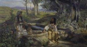 Genrikh Ippolitovich Semiradski: Christus und die Samariterin am Brunnen