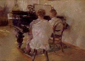 Leonid Ossipowitsch Pasternak: Am Klavier
