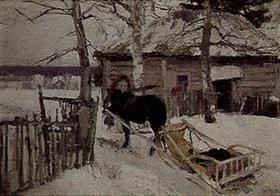 Alexejew. Konstantin Korovin: Im Winter
