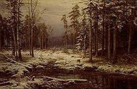 Iwan Iwanowitsch Schischkin: Erster Schnee