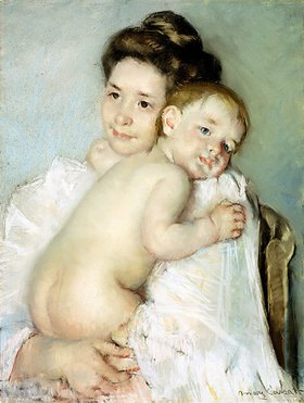 Mary Cassatt: Junge Mutter