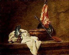Jean-Baptiste Siméon Chardin: Stilleben mit irdener Schüssel