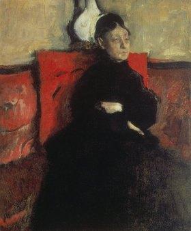 Edgar Degas: Portrait der Herzogin von Montejasi-Cicerale, der Tante des Künstlers
