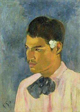 Paul Gauguin: Der junge Mann mit der Blume