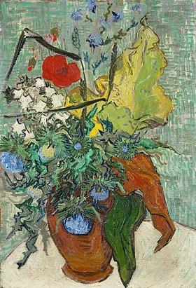 Vincent van Gogh: Vase mit Wildblumen