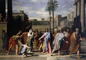 Nicolas Colombel: Christus und die Ehebrecherin