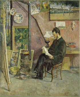 Jean-Baptiste Armand Guillaumin: Doktor Martinez im Atelier des Künstlers