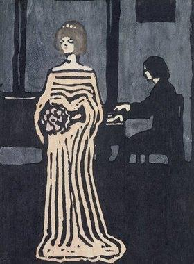Wassily Kandinsky: Die Sängerin