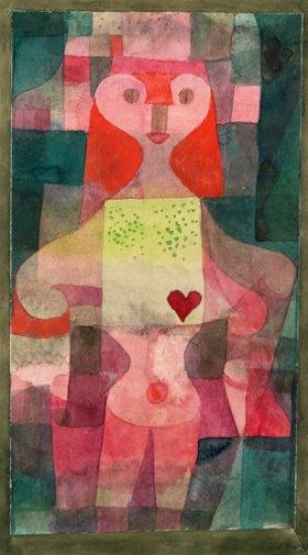 Paul Klee: Herzdame. 1922