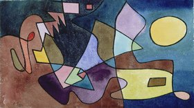 Paul Klee: Dramatische Landschaft