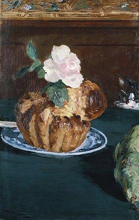 Edouard Manet: Stilleben mit Brioche