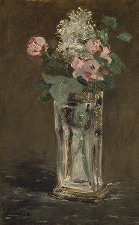 Edouard Manet: Blumen in einer Kristallvase