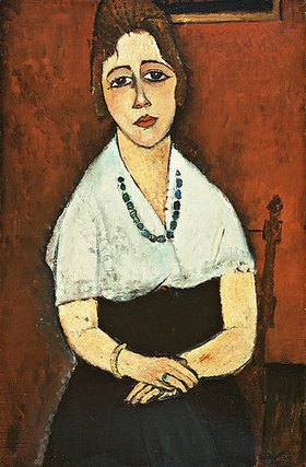 Amadeo Modigliani: Junge Frau mit Halskette (Elena Picard)