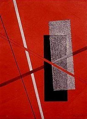László Moholy-Nagy: Platte 4 aus der Serie Konstruktionen
