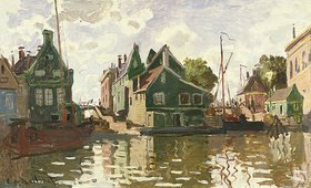 Claude Monet: Kanal in Zaandam