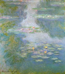 Claude Monet: Seerosen (Wasserlandschaft)