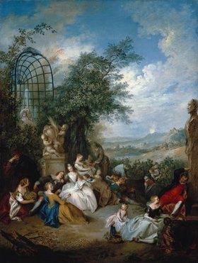 Jean-Baptiste François Pater: Ländliches Fest