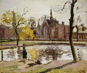 Camille Pissarro: Das Dulwich College in London
