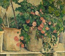 Paul Cézanne: Stilleben mit Petunien