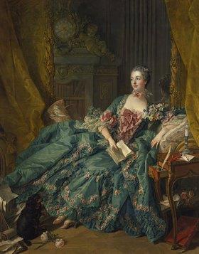 François Boucher: Marquise de Pompadour, Bildnis