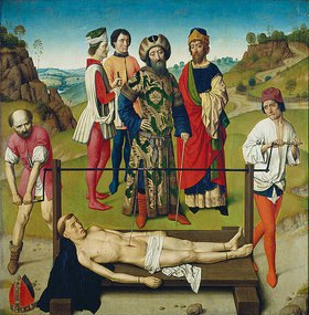 Dieric d.Ä. Bouts: Das Martyrium des hl. Erasmus