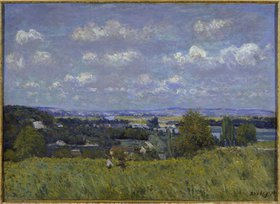 Alfred Sisley: La Combe de la Seine a Saint-Cloud