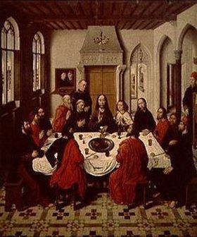 Dieric d.Ä. Bouts: Das letzte Abendmahl