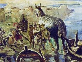 Lovis Corinth: Das Trojanische Pferd