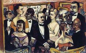Max Beckmann: Gesellschaft Paris