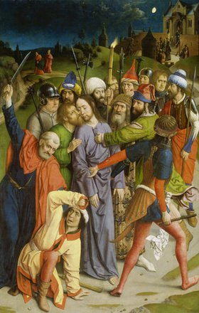 Dieric d.Ä. Bouts: Die Gefangennahme Christi