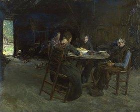 Max Liebermann: Ostfriesische Bauern beim Tischgebet