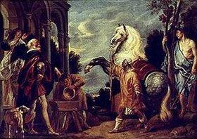 Jacob Jordaens: Das Auge des Herrn macht das Pferd fett