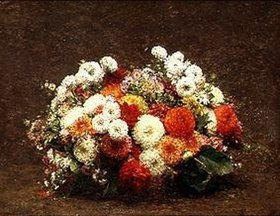 Henri de Fantin-Latour: Blumenstilleben. Wohl