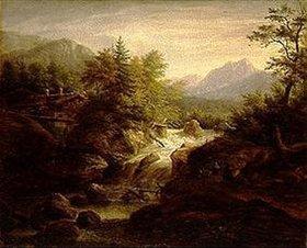 Johann Jakob Dorner d.J.: Der Sagenbach bei Wildbad Kreuth