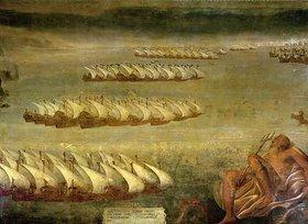 Luca Cambiaso: Die Seeschlacht von Lepanto