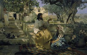 Genrikh Ippolitovich Semiradski: Christus und die Sünderin