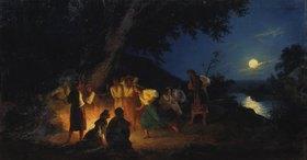 Genrikh Ippolitovich Semiradski: Die Iwan-Kupala-Nacht