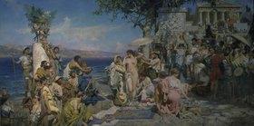 Genrikh Ippolitovich Semiradski: Das Fest des Poseidon