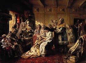Konstantin Jegor Makovskij: Heiratsvorbereitungen