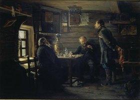 Wladimir J Makovskij: In einem russischen Dorfgasthaus