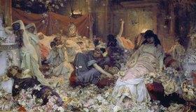 Pavel Alexandrow Swedomski: Römische Orgie (In Blumen begraben)