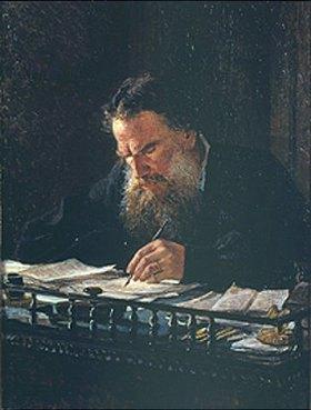 Nikolai Gay: Bildnis L.N.Tolstoi