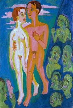 Ernst Ludwig Kirchner: Das Paar vor den Menschen