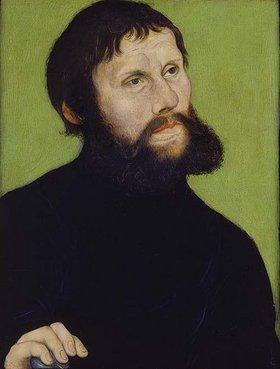 Lucas Cranach d.Ä.: Bildnis Martin Luthers als Junker Jörg